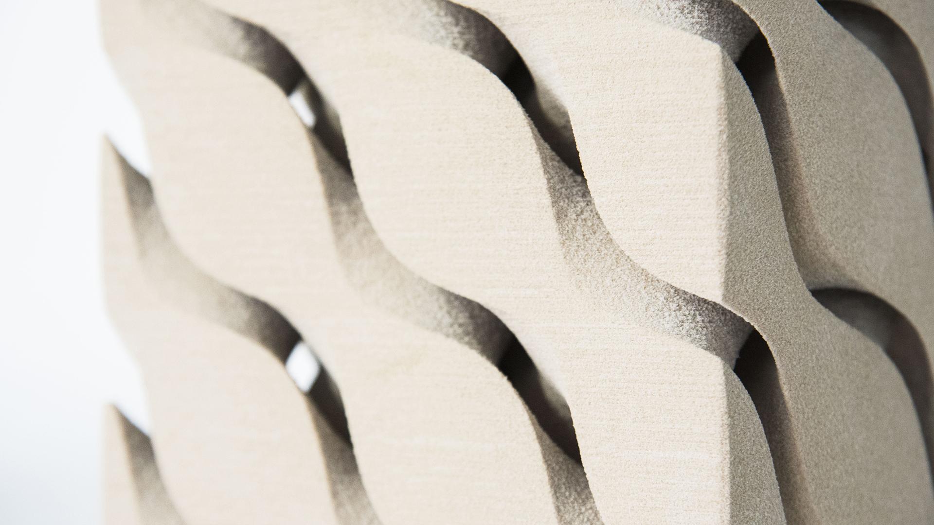3D printed thermal exchange component (Sahar Barzani, Fernando Cena, Haruna Okawa)